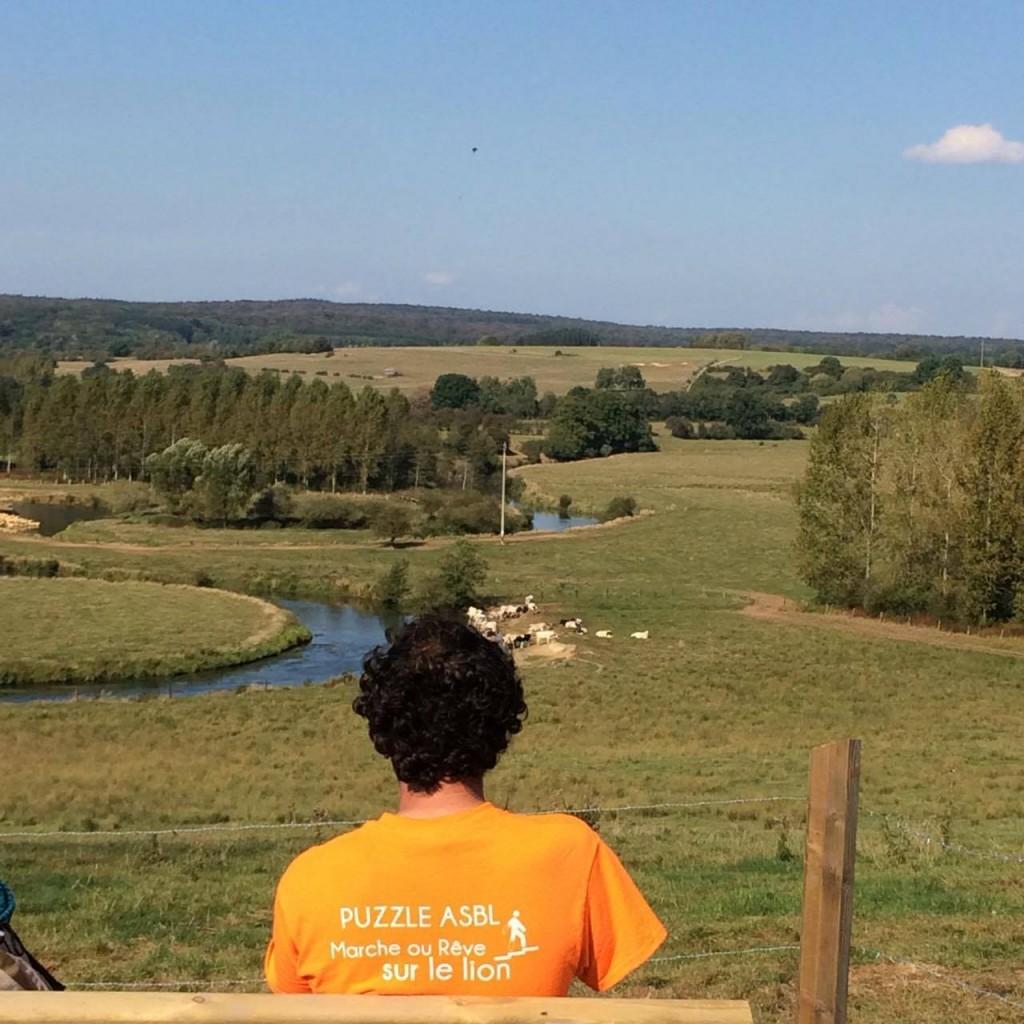 Patrice Le Rouzic sur GR 16 vallée de la Semois